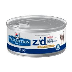 PACK AHORRO Hill's Prescription Diet z/d Ultra Gatos Alergias Alimentarias Lata 12x156g