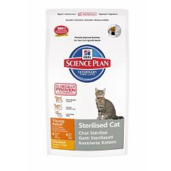 Hill's Science Plan Gato Young Adult Sterilised Pollo 8kg