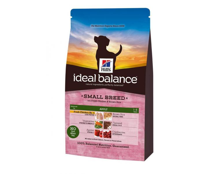 Hill's Ideal Balance Canine Small Breed Pollo-Arroz 700g