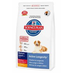 Hill's Science Plan Perro Mature Adult 7+ Raza Mediana Pollo 12kg