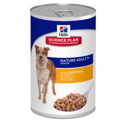 Hill's Science Plan Perro Mature Adult 7+ Pollo Lata 370g