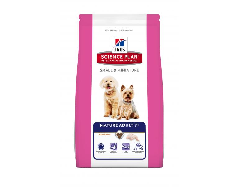 Hill's Science Plan Perro Mature Adult 7 Small Miniature 1,5kg