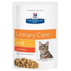 Hill's Prescription Diet c/d Gatos Tracto Urinario Bolsa 85g