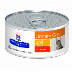 Hill's Prescription Diet c/d Gatos Tracto Urinario Lata 156g