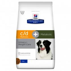 PACK AHOR Hill's c/d Multicare+Metabolic 2x12Kg