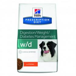 PACK AHORRO Hill's Prescription Diet Perro w/d 2x12kg