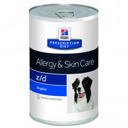 PACK AHORRO Hill's Prescription Diet z/d Ultra Perro Alergias Alimentarias Lata 12x370g