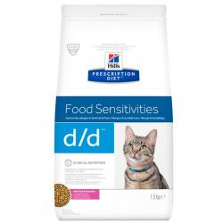 Hill's Prescription Diet d/d Food Sensitivities Pato 1,5kg