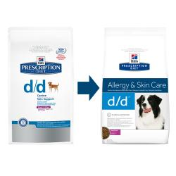 Hill's Prescription Diet d/d Perro con Piel Sensible Salmón y Arroz 12kg