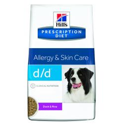 Hill's Prescription Diet d/d Perro con Piel Sensible Pato y Arroz 5kg