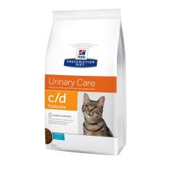 Hill's Prescription Diet c/d Gatos Tracto Urinario Pescado 5kg