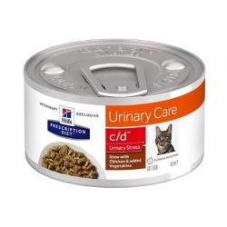 Hill's Prescription Diet Feline c/d Urinary Stress 82g