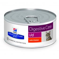Hill's Prescription Diet i/d Gatos Salud Digestiva Lata 156g