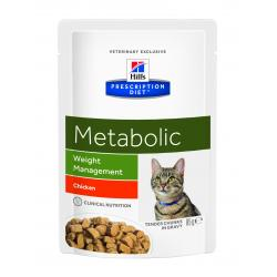 Hill's Prescription Diet Metabolic Gatos con Sobrepeso Bolsa 85g