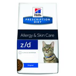 Hill's Prescription Diet z/d Gatos Alergias Alimentarias 2kg