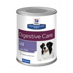 Hill's Prescription Diet i/d Low fat Perro Salud Digestiva Lata 360g