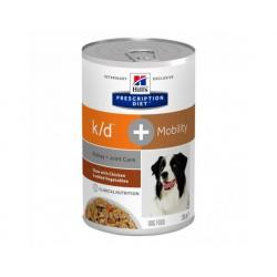 Hill's Prescription Diet Perro k/d+Mobility Lata 345g