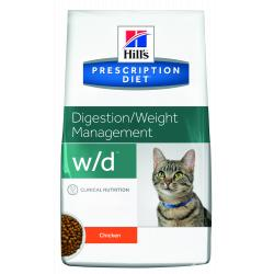 Hill's Prescription Diet w/d Gatos Salud Digestiva, Peso y Diabetes 1,5kg