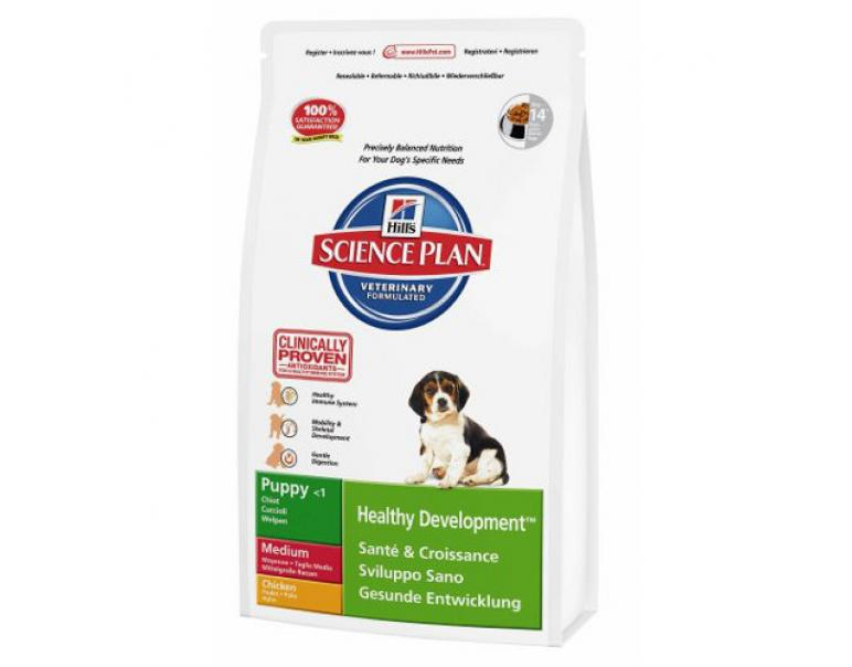 Hill's Science Plan Puppy Raza Mediana Pollo 1kg