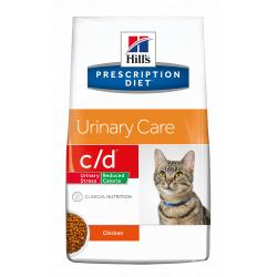 Hill's Prescription Diet c/d Reduced Calorie Gatos Tracto Urinario 8kg