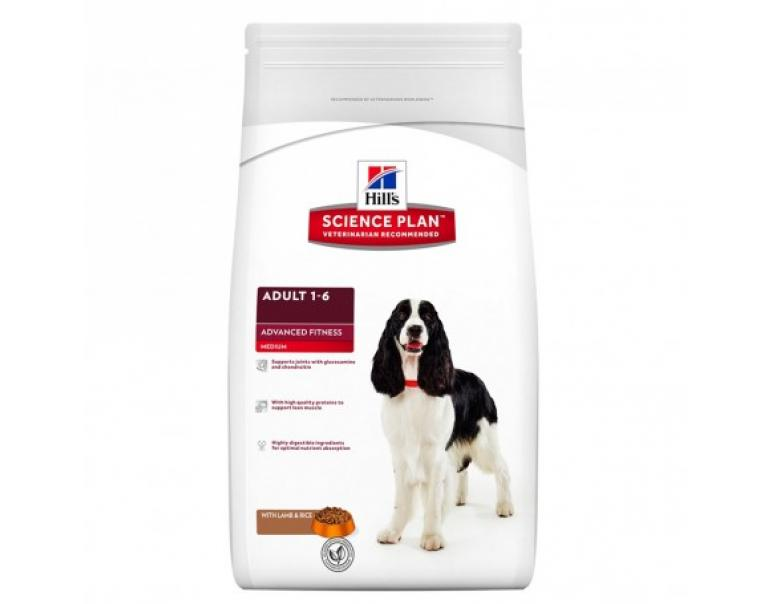 Hill's SP Adulto Fitness Cordero/Arroz 2,5 Kg