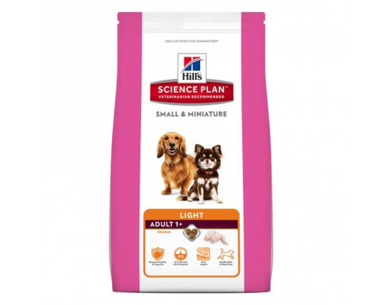 Hill's Science Plan Adult Light Small & Miniature para Perros 6kg