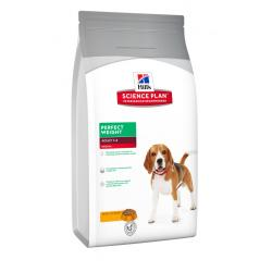Hill's Science Plan Canine Adult, Perfect Weight Medium  10 kg
