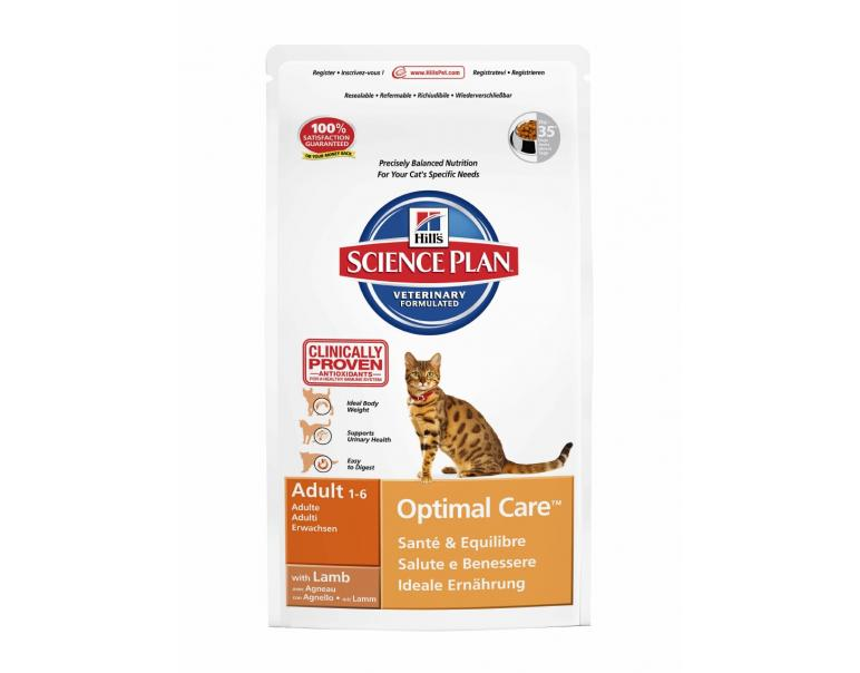 Hill's Science Plan Gato Adult Cordero 10kg