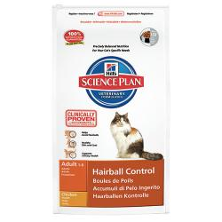 Hill's Science Plan Gato Adult Hairball  1,5kg