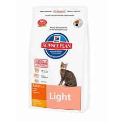 Hill's Science Plan Gato Adult Light Pollo 10kg