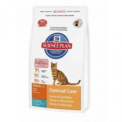 Hill's Science Plan Feline Adult Optimal Care Atún Pienso para Gatos 1,5kg