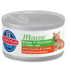 Hill's Science Plan Feline Kitten 1st nutricion mousse  85g