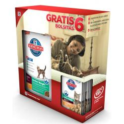 Hill's Science Plan Feline Perfect Weight 1.5kg + 6 sobres de comida húmeda DE REGALO