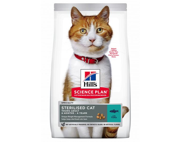 Hill's Science Plan Gato Young Adult Sterilised Atún 1,5kg