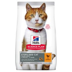 Hill's Science Plan Gato Young Adult Sterilised Pollo 1,5kg