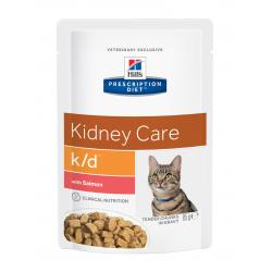 Hill's Prescription Diet k/d Gatos Salud Renal Bolsa 85g