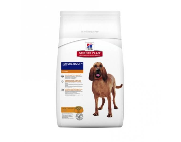 Hill's Science Plan Mature Adult 7+ Light Pienso para Perros 14kg