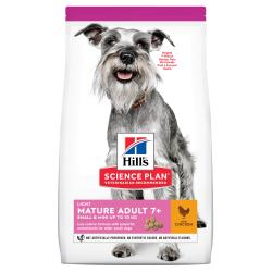Hill's Science Plan Mature Adult +7 Small y Mini Light Pollo 2,5kg