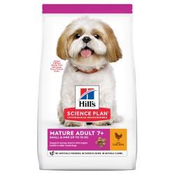 Hill's Science Plan Mature Adult +7 Small y Mini Pollo 1,5kg