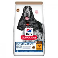 Hill's Science Plan No Grain Perro Sénior 7+ 14kg
