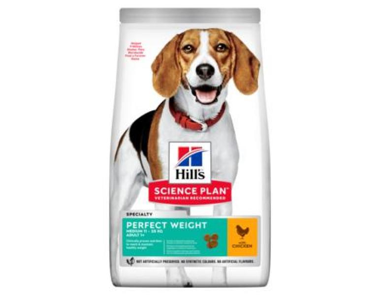 Hill's Science Plan Perfect Weight Medium 12kg