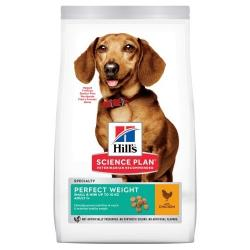 Hill's Science Plan Perfect Weight Small & Mini Pollo 6kg