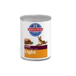 PACK AHORRO Hill's Science Plan Adult Light Pollo 12 Latas 370 g