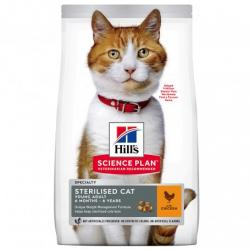 Hill's Science Plan Sterilised Cat Young Adult con Pollo 10kg