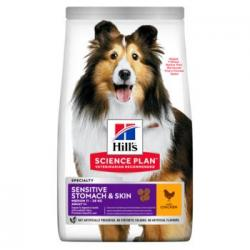 Hill's Science Plan Sensitive Stomach & Skin Medium 2,5kg