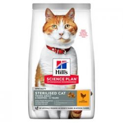 Hill's Science Plan Sterilised Cat Young Adult con Pollo 1,5kg