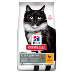 Hill's Science Plan Sterilized Gato Adulto 7+ con Pollo 1,5kg