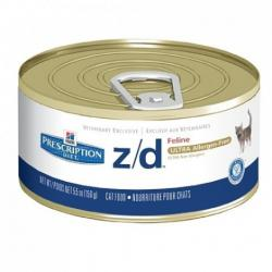Hill's z/d Ultra Allergen Free Gatos 24 x 156g