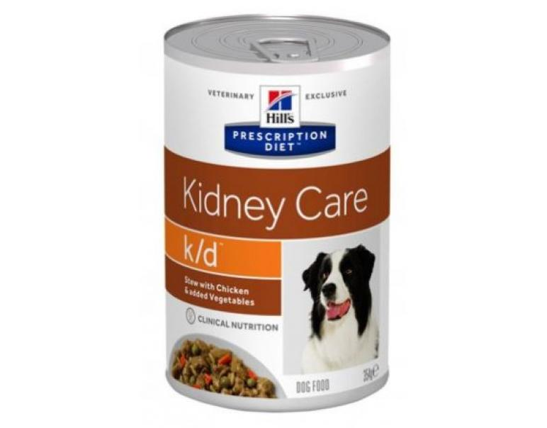 Hill´s Prescription Diet Canine K/D Pollo Vegetales Alimento Húmedo para Perros 354g