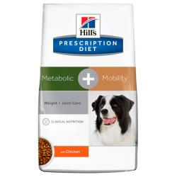 Hill's Prescription Diet Metabolic + Mobility Perro Articular y Sobrepeso 4kg